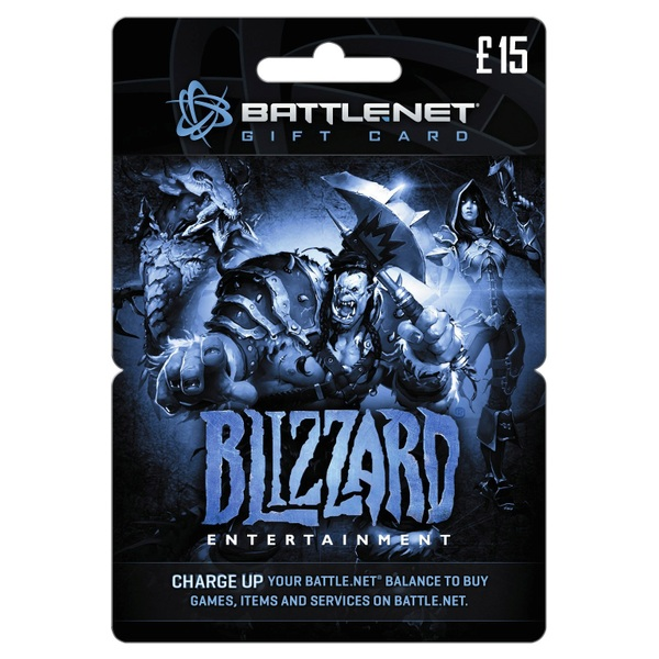 Battle.net Card £15
