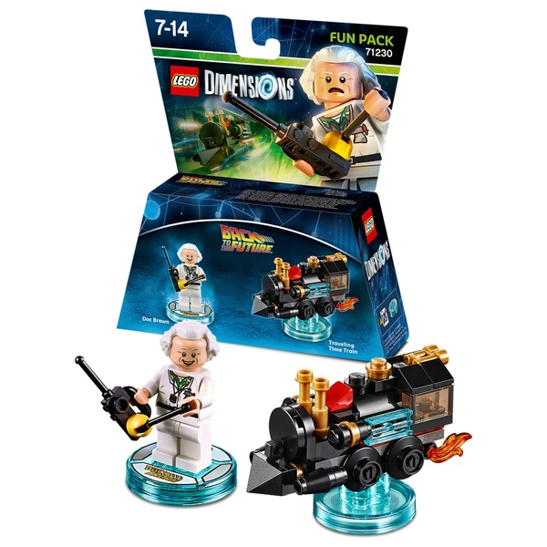LEGO Dimensions Fun Pack: Back to the Future Doc Brown