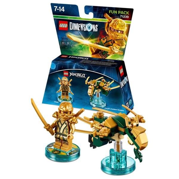 LEGO Dimensions Fun Pack: LEGO Ninjago Lloyd - LEGO Dimensions UK
