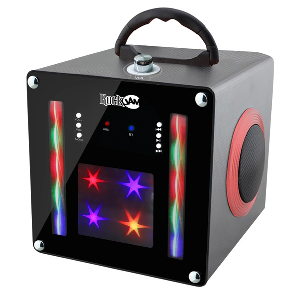 Rockjam Light Show Bluetooth Speaker Black Clearance Ireland