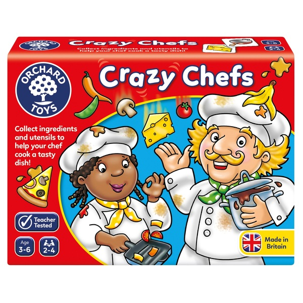 Orchard Toys Crazy Chefs Game Smyths Toys Uk Such good fun and learning whilst he is playing. orchard toys crazy chefs game smyths toys uk