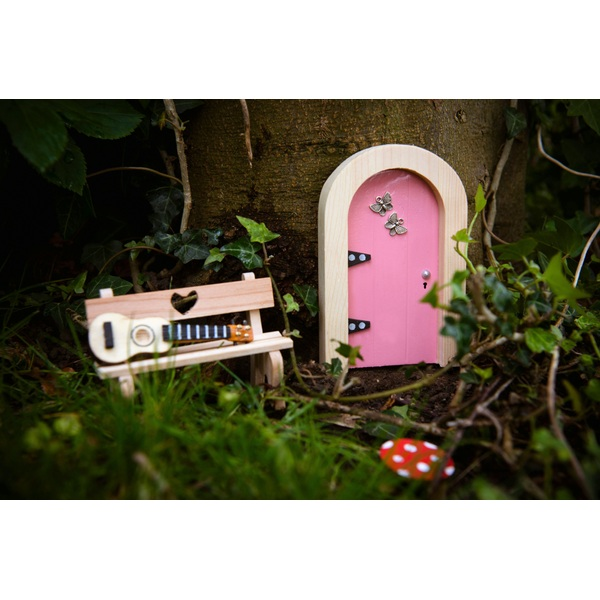 Irish fairy door pink round fairies uk for My irish fairy door
