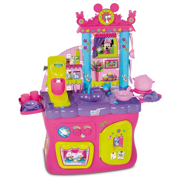 Minnie Mouse Play Kitchen: Kitchens & Household UK