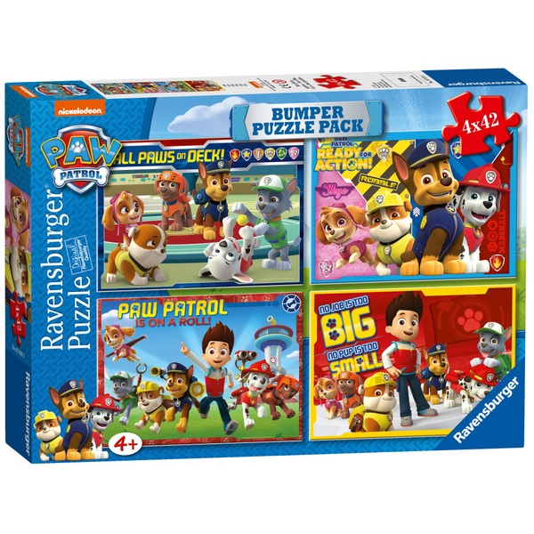 Paw Patrol Bumper Puzzle Pack