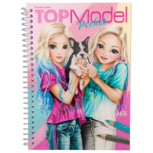 TOPModel Pocket Colouring Book 3D