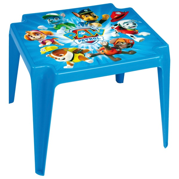 PAW Patrol Plastic Table