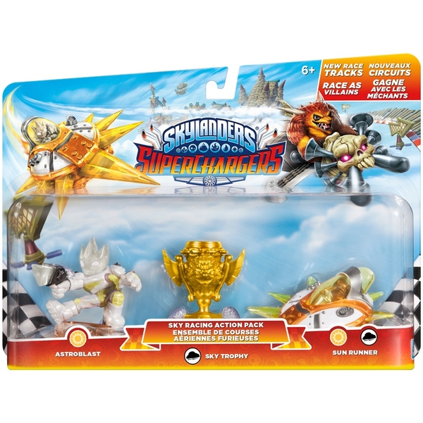 skylanders superchargers racing pack sky