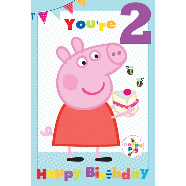 Peppa Pig Birthday Card Partyware Ireland
