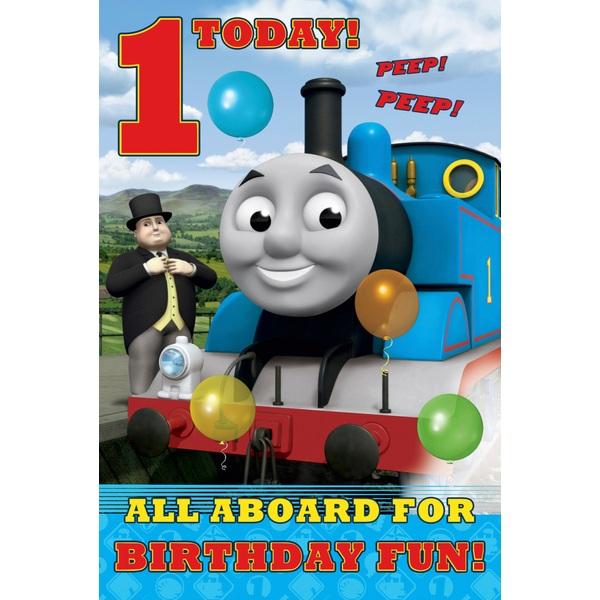 Thomas the Tank Engine Birthday Card