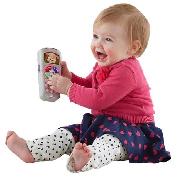 Fisher-Price Laugh & Learn Sis' Remote Control