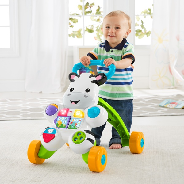 Fisher-Price Learn with Me Zebra Walker Baby Walker