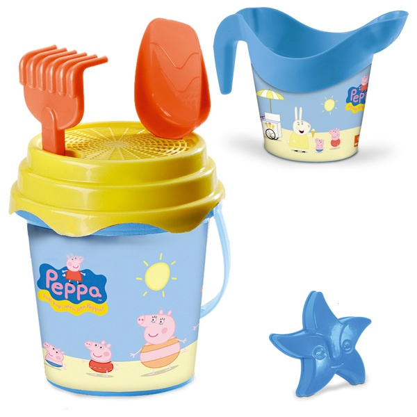 Peppa Pig Bucket Set with Watering Can