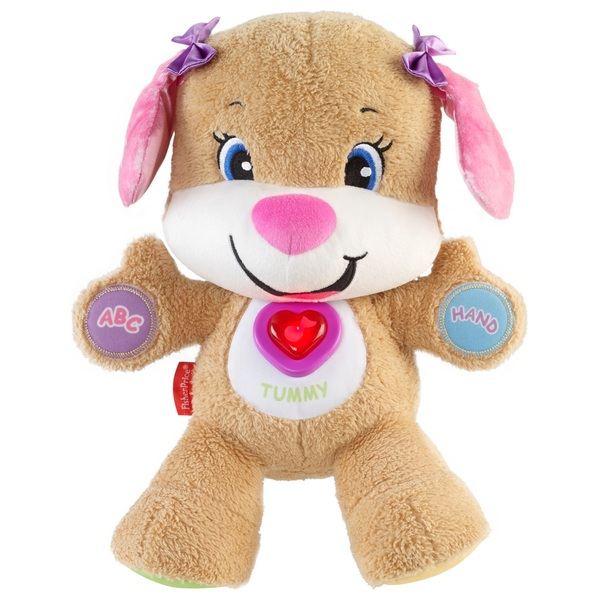 Fisher-Price Laugh & Learn Smart Stages Sis Puppy Pink