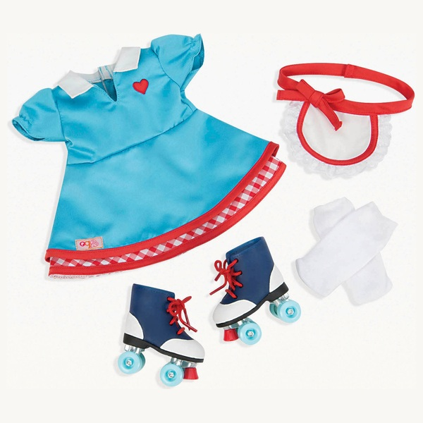 Our Generation Retro Outift Soda Pop Sweetheart Set