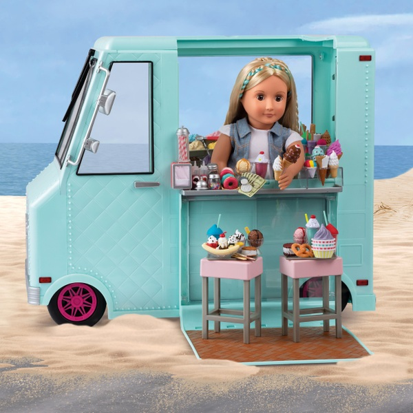 our generation sweet stop ice cream truck 52cm our generation uk