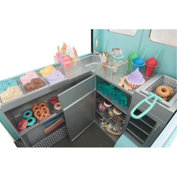 Our Generation Sweet Stop Ice Cream Truck 52cm Our