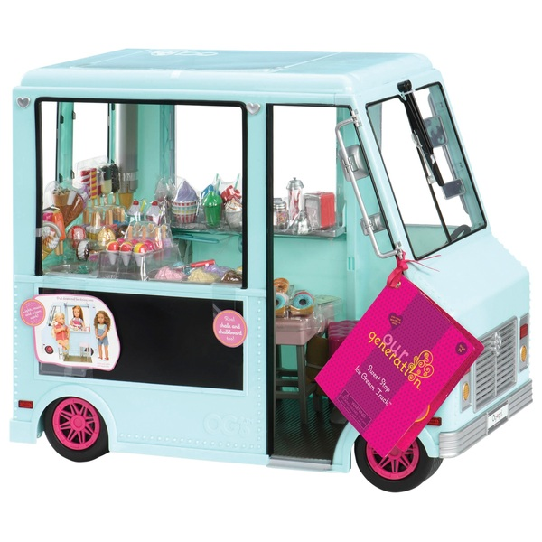 Our Generation Sweet Stop Ice Cream Truck Our Generation Uk