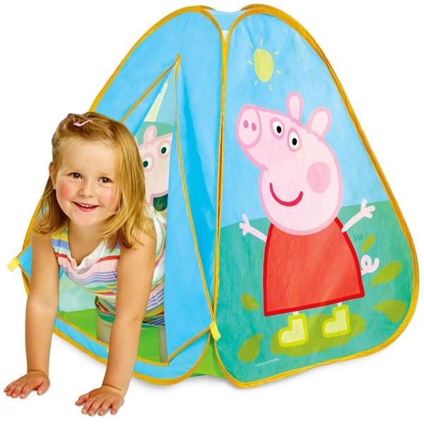 Peppa Pig Pop-Up Play Tent  sc 1 st  Smyths Toys : peppa pig tent - memphite.com