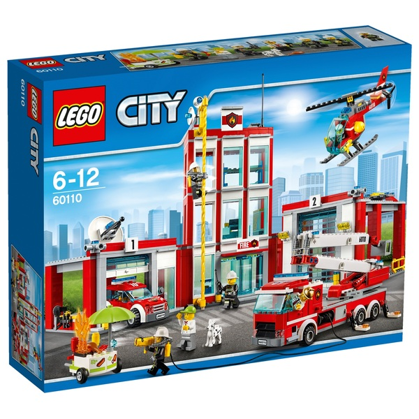 LEGO 60110 City Fire Station Construction Toy