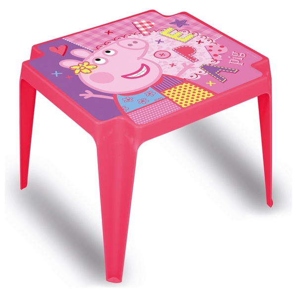 Peppa Pig Plastic Table