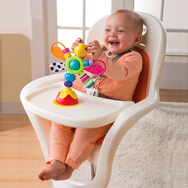 TOMY Lamaze Freddie the Firefly High Chair Toy