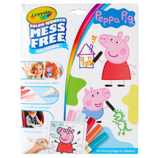 Crayola Colour Wonder Peppa Pig