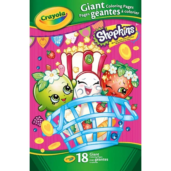 Crayola Shopkins Giant Colouring