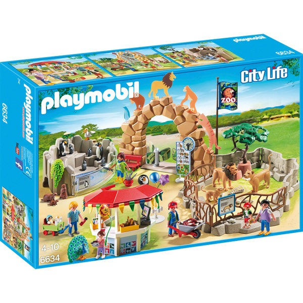 Playmobil 6634 City Life Large City Zoo