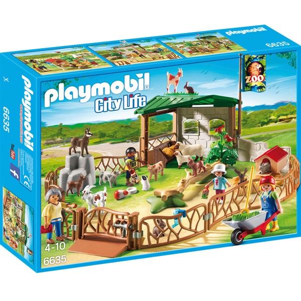 Playmobil City Life Children S Petting Zoo 6635