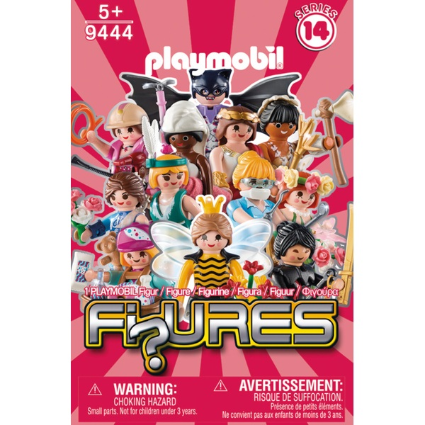 Playmobil 9444 Series 14 Pink Figures - Assortment