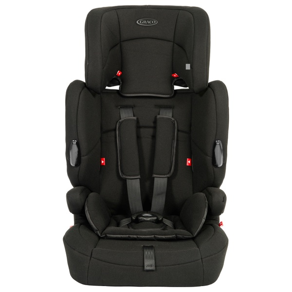 Graco Endure Group 1-2-3 Car Seat Black - Group 1-2-3 |9 Months - 11