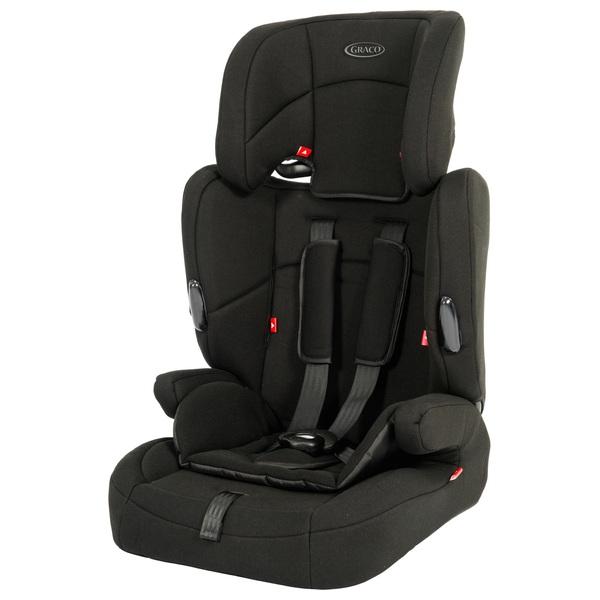 Graco Endure Group 1 2 3 Car Seat Black