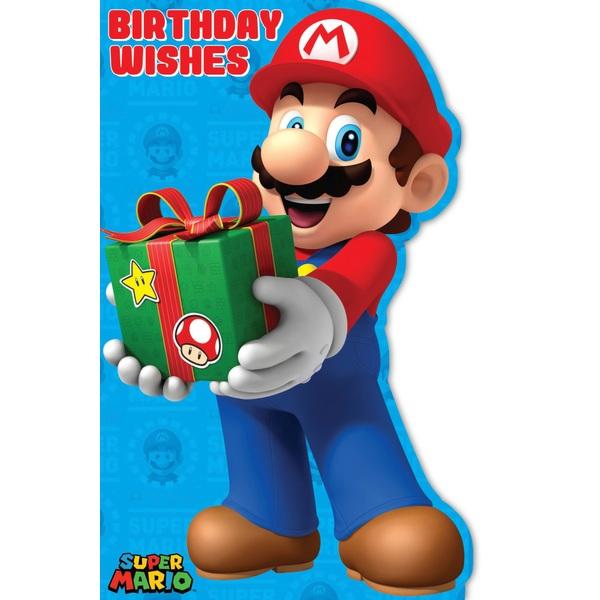 Mario Favourite Birthday Card (No Age)