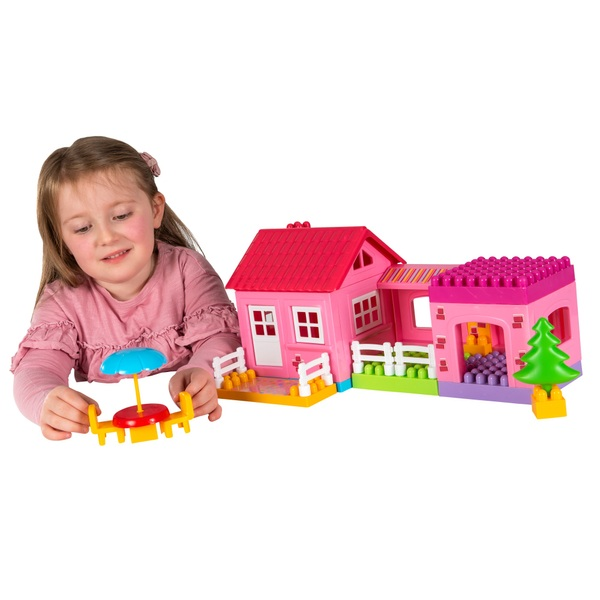 Build Your House Building Blocks Playset