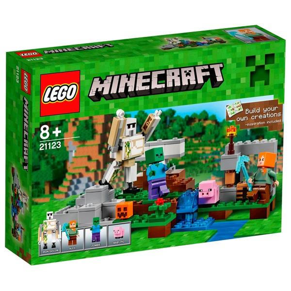 LEGO 21123 Minecraft The Iron Golem - LEGO Minecraft UK
