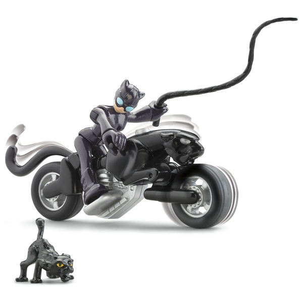 Fisher-Price Imaginext DC Super Friends Cat Woman And Cycle Figures