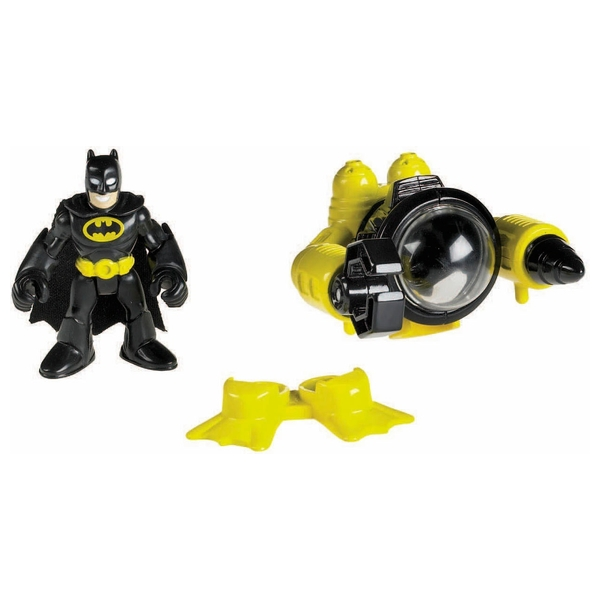 Fisher-Price Imaginext DC Super Friends Batman and Submarine Figures
