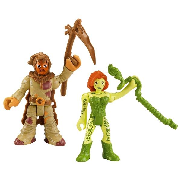 Fisher-Price Imaginext DC Super Friends Scarecrow and Poison Ivy Figures