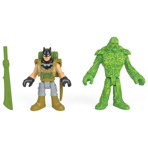 Fisher-Price Imaginext DC Super Friends Batman and Swamp Thing