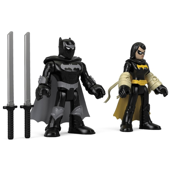 Fisher-Price Imaginext DC Super Friends Black Bat and Ninja Batman