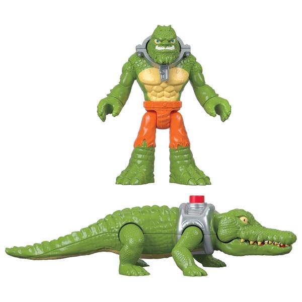 Imaginext DC Superfriends K Croc and Crocodile