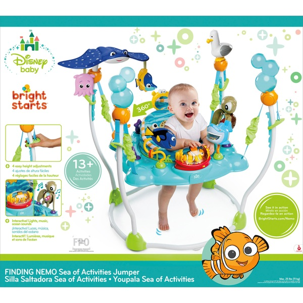 c3e5bb335 Disney Baby Finding Nemo Sea of Activities Jumper - Entertainers and ...