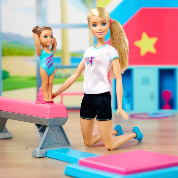 Barbie Flipping Fun Gymnast Set