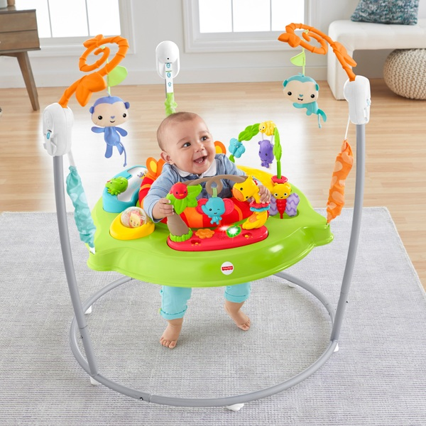 Fisher Price Roaring Rainforest Baby Jumperoo With Music