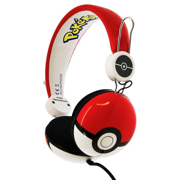 Pokémon Poké Ball Teen Headphones