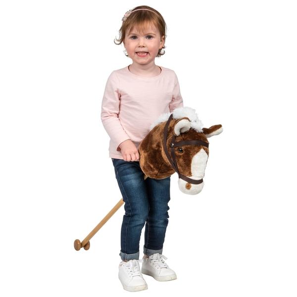 100cm Hobby Horse Brown
