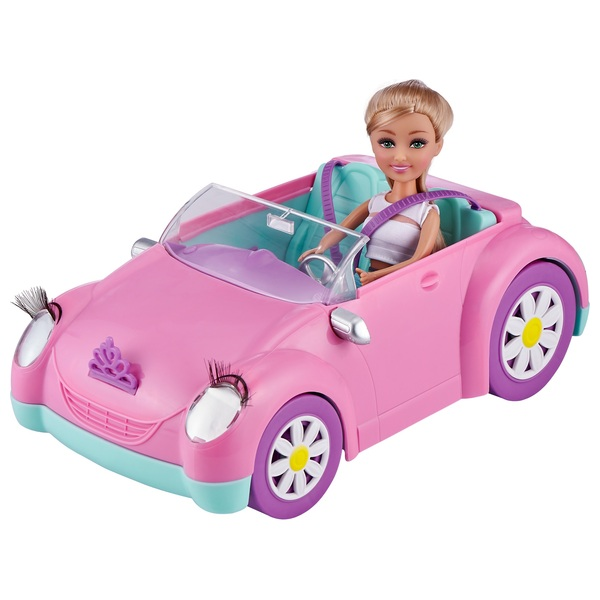 Sparkle Girlz Butterfly Fairies Coupe with 25c Doll