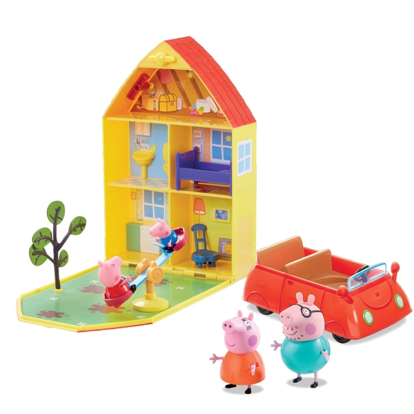 Peppa Pig's Family House Playset