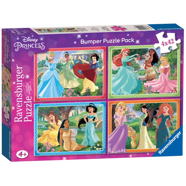 Disney Princess Bumper Puzzle Pack Jigsaws Amp Puzzles Uk