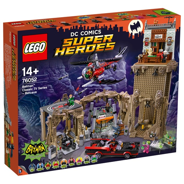 LEGO 76052 DC Comics Super Heroes Batman Classic TV Series Batcave